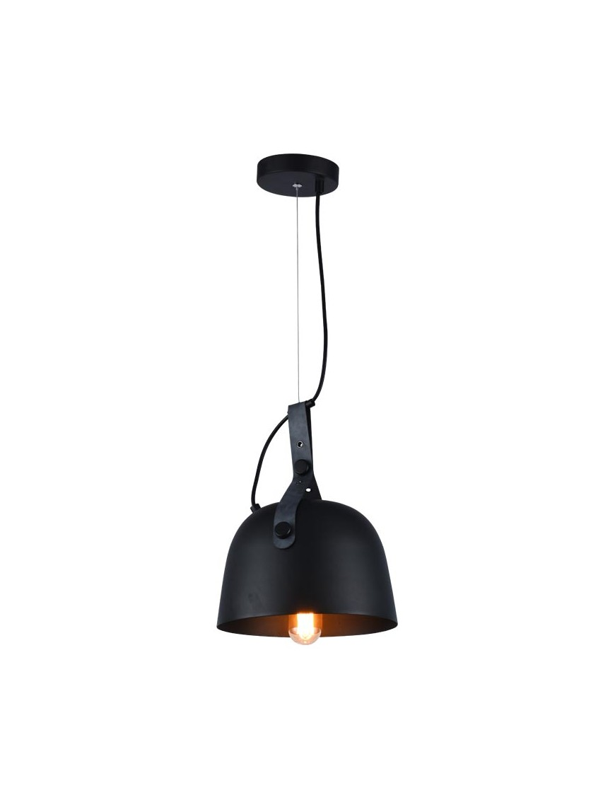 Κρεμαστό Φωτιστικό Loxton 40w Μαύρο