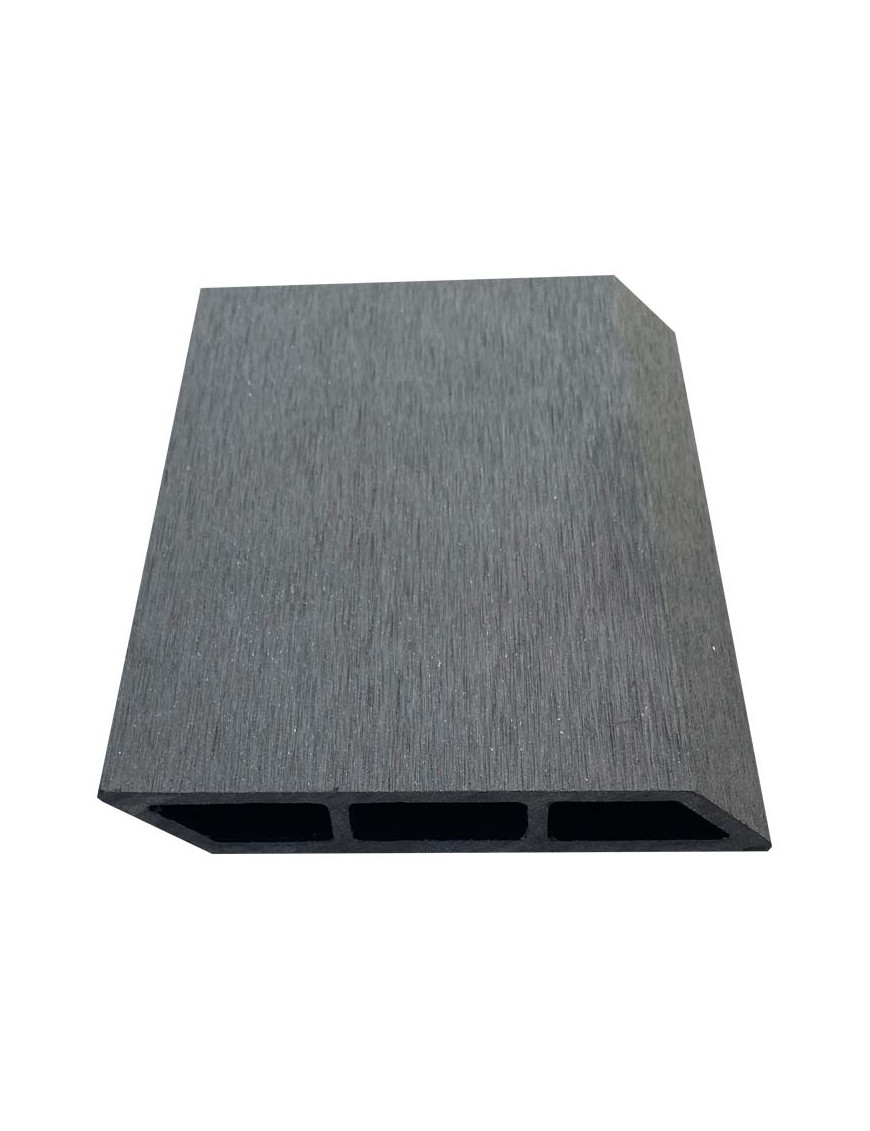 Σανίδα Περίφραξης Deck WPC 20x120x3600mm Λοξή Μαύρη