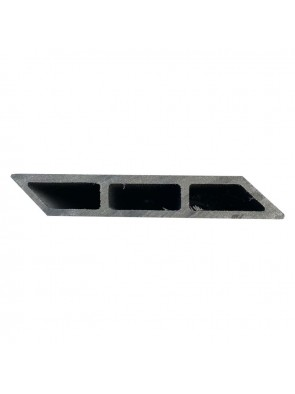 Σανίδα Περίφραξης Deck WPC 20x120x3600mm Λοξή Grey