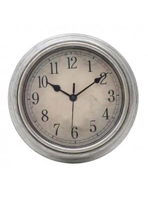 Ρολόι Τοίχου Αντικέ Ασημί IN ART 3-20-828-0088