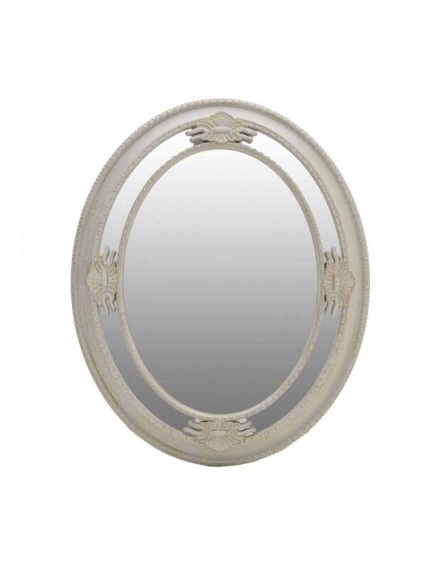 Καθρέπτης Τοίχου Εκρού-Χρυσός INART 3-95-925-0004