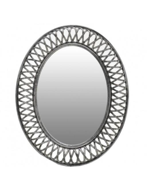 Καθρέπτης Τοίχου Γκρί INART  3-95-925-0002