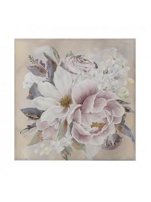 """Πίνακας Σε Καμβά """" Λουλούδια"""" 80Χ80 INART 3-90-242-0201"""