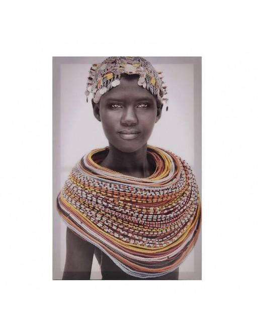 """Πίνακας Printed Καμβάς """"Γυναίκα"""" 40Χ60 INART 3-90-519-0142"""