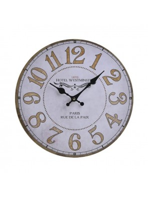 Ρολόι Τοίχου Ξύλινο InArt 3-20-773-0351