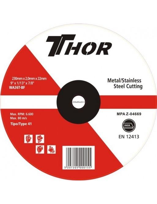 Δίσκος Κοπής Thor 230x2mm