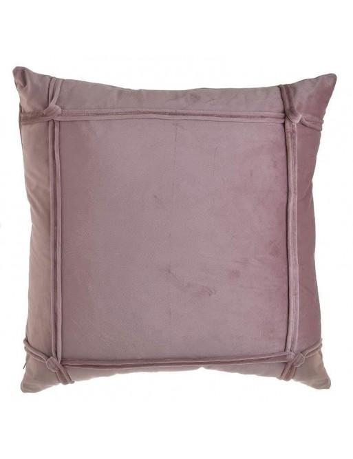 Μαξιλάρι Διακοσμητικό Βελούδινο Ροζ 45x45 Inart 3-40-054-0033