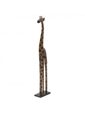 Διακοσμητική Καμηλοπάρδαλη Ξύλινη Inart 3-70-281-0010