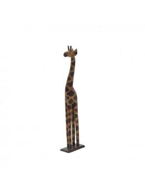 Διακοσμητική Καμηλοπάρδαλη Ξύλινη Inart 3-70-281-0012