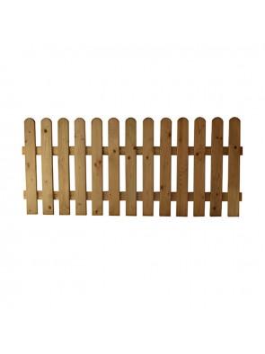 Ξύλινος Φράχτης Λεία Τάβλα 2,2X9cm 80x180cm 30001