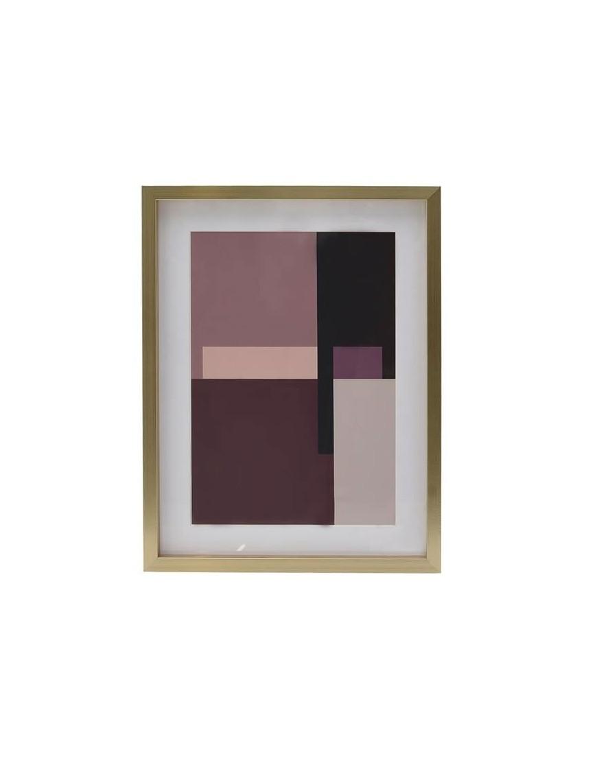 Πίνακας Printed Αφηρημένης Τέχνης Πολύχρωμος 30x40 Κωδικός: 3-90-524-0001