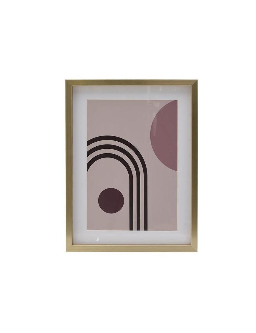 Πίνακας Printed Αφηρημένης Τέχνης Πολύχρωμος 30x40 Κωδικός: 3-90-524-0004