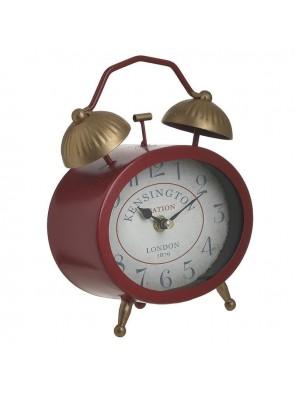 Ρολόι Επιτραπέζιο Κόκκινο/Χρυσό 16Χ7Χ22 INART 3-20-977-0304