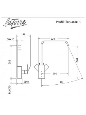 Carron Phoenix Profili Plus 46813-100