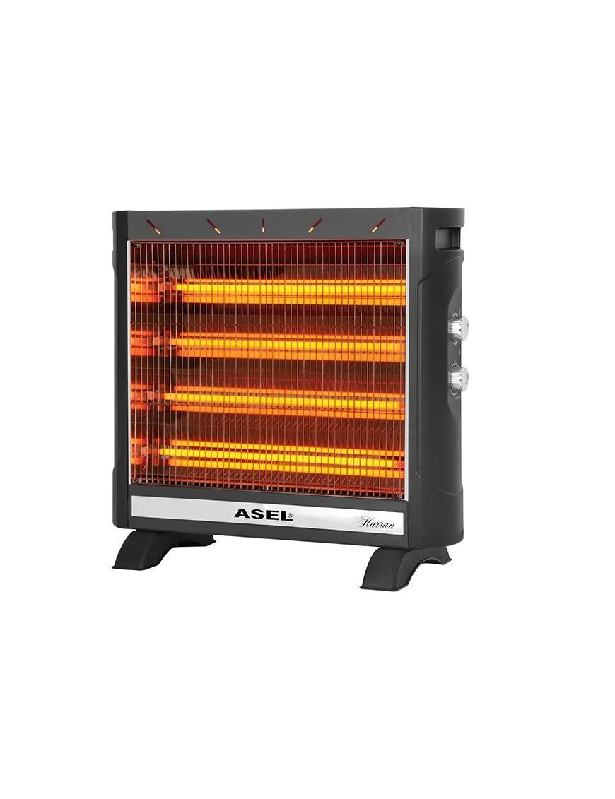 Ηλεκτρική Θερμάστρα Χαλαζία Asel AH-9225 2750W