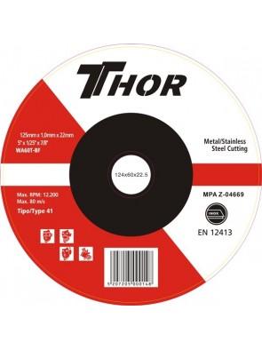 Δίσκος Κοπής Thor 125x1mm