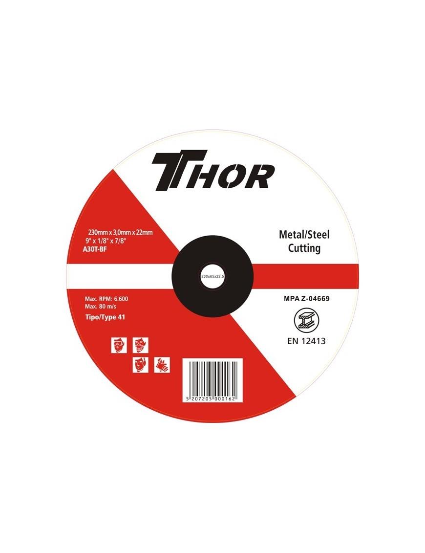 Δίσκος Κοπής Thor 230x3mm